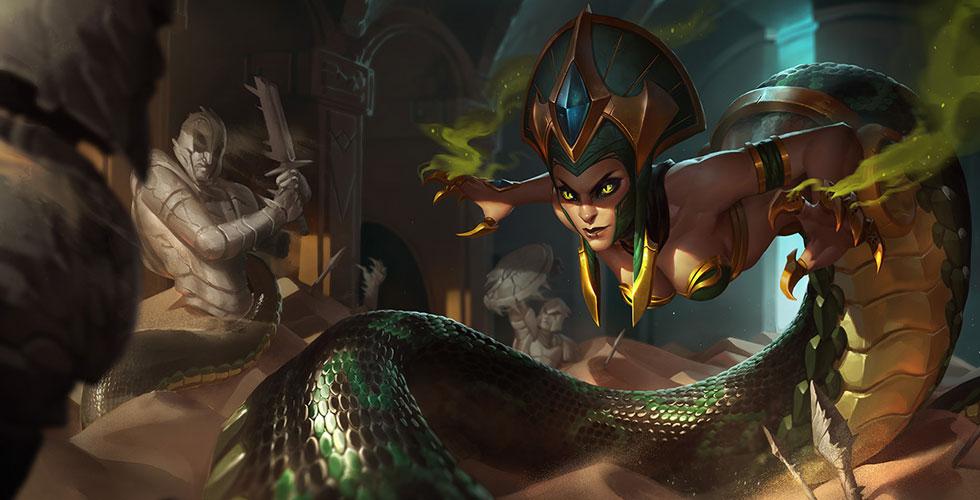 魔蛇之拥 卡西奥佩娜