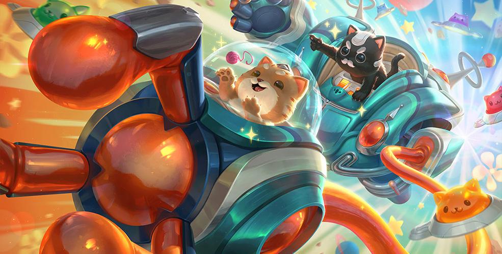 """太空律动 """"猫猫"""" 布里和里茨"""
