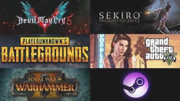 Steam周销量排行:《鬼泣5》二连冠